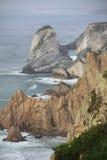 Vista sul mare rocciosa Immagini Stock