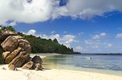 Vista sul mare, Seychelles Fotografia Stock Libera da Diritti