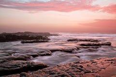 Vista sul mare Sudafrica Fotografia Stock