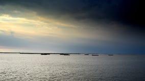 Vista sul mare in Tailandia Fotografie Stock