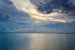 Vista sul mare in Tailandia Fotografia Stock
