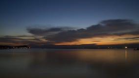 Vista sul mare in Tailandia Fotografia Stock Libera da Diritti