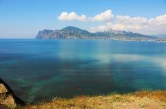 Vista sul mare - una vista della baia. Foto 0697 Fotografia Stock