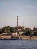 Vista sul minareto Immagine Stock