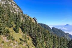 Vista sul Mt Pilatus Fotografia Stock