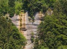 Vista sul Mt Rigi in Svizzera di estate Fotografia Stock