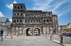 Vista sul Nigra di Porta in Trier, Germay Fotografia Stock Libera da Diritti