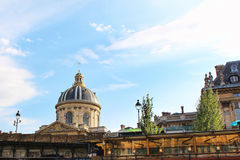 Vista sull'istituto dell'edificio della Francia Fotografie Stock