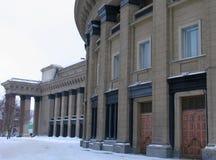 Vista sull'opera di Novosibirsk e sul balletto Theate Fotografie Stock