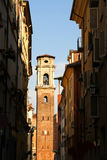 Vista sulla cattedrale di Torino Immagini Stock