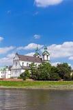 Vista sulla chiesa di skalka  Immagini Stock