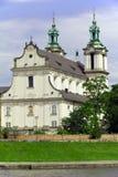 Vista sulla chiesa di skalka a Cracovia in Polonia Immagine Stock