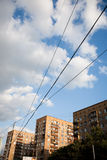 Vista sulla città immagini stock libere da diritti