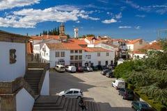 Vista sulla città Almeida, Beira Alta, Portogallo Fotografia Stock Libera da Diritti