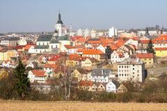 Vista sulla città storica Fotografie Stock Libere da Diritti