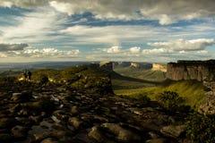Vista sulla collina di cio del ¡ di Pai InÃ, in Chapada Diamantina fotografia stock libera da diritti