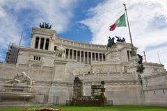 Vista sulla piazza Venezia a Roma Fotografie Stock Libere da Diritti