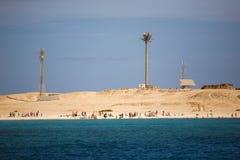 Vista sulla spiaggia Fotografia Stock