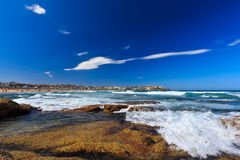 Vista sulla spiaggia di Bondi Immagini Stock Libere da Diritti
