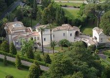 Vista sulla villa Fotografia Stock