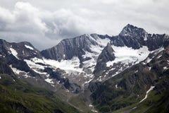 Vista sulle alpi di Oetztal Immagine Stock Libera da Diritti