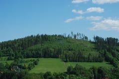 Vista sulle colline Immagini Stock Libere da Diritti