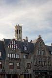 Facciata di Bruges Immagini Stock Libere da Diritti