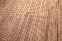 Vista superior à terra de madeira foto de stock royalty free