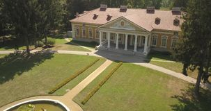Vista superior aérea al conjunto Samchiki del palacio almacen de video