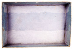 Vista superior da caixa da caixa Imagem de Stock Royalty Free
