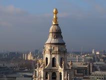 Vista superior da catedral de St Paul Imagem de Stock Royalty Free