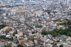Vista superior da cidade Imagens de Stock Royalty Free