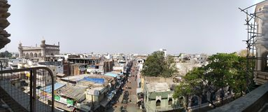 Vista superior de charminar foto de stock royalty free