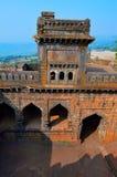 Vista superior de Darwaja adolescente Fuerte de Panhala, Kolhapur, maharashtra Imagenes de archivo