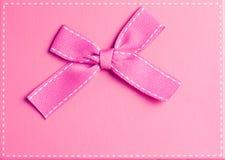 Vista superior de la caja de regalo elegante Imagen de archivo libre de regalías
