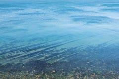 Vista superior de la calma del Mar Negro Imágenes de archivo libres de regalías
