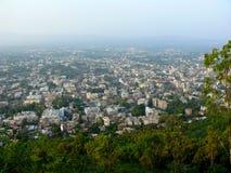 Vista superior de la ciudad Fotografía de archivo libre de regalías