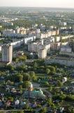 Vista superior de la ciudad de Ryazan Fotografía de archivo libre de regalías