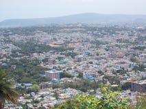 Vista superior de ooty, la India Imagen de archivo libre de regalías