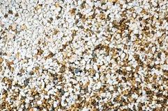 Vista superior de seixos pequenos coloridos Fotos de Stock