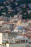 Vista superior de Trieste, Italia Imagen de archivo libre de regalías