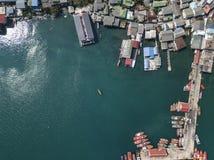 Vista superior de um mar Fotos de Stock Royalty Free