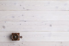 Vista superior de um moedor de café Foto de Stock