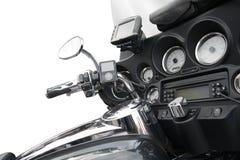Vista superior de uma motocicleta luxuoso Fotografia de Stock Royalty Free