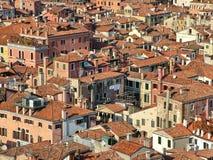 Vista superior de Venezia Foto de archivo