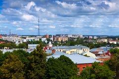 Vista superior de Vladimir viejo Imagen de archivo libre de regalías