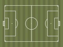 Vista superior del campo de fútbol o del campo de fútbol Foto de archivo