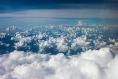 Vista superior del cielo Foto de archivo