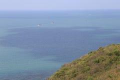 Vista superior del mar Imagen de archivo