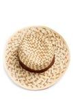Vista superior del sombrero del sol Foto de archivo